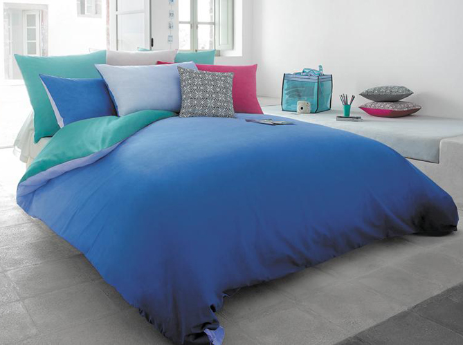 Vent de fra cheur sur le linge de lit elle d coration - Housse couette jalla ...