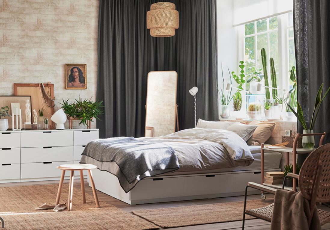 Lit avec rangement notre s lection de mod les pour la - Conforama lit de chambre pour un couple ...