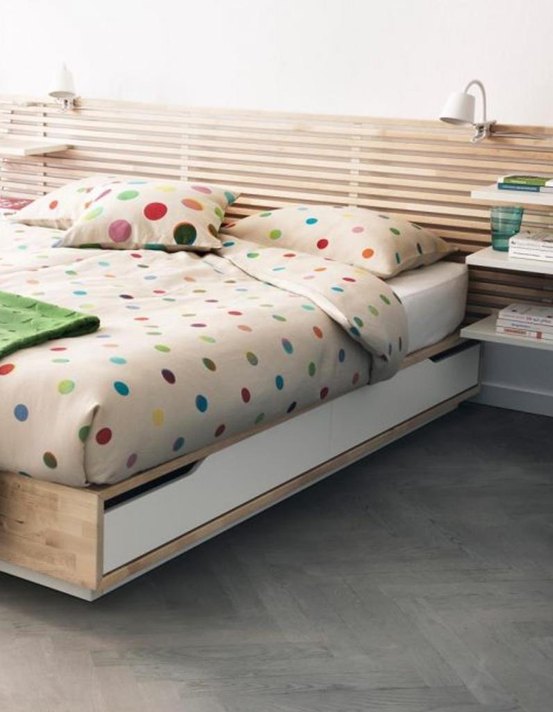 lit avec coffre de rangement ikea trendy meuble ikea astuces de rangement pour gagner de la. Black Bedroom Furniture Sets. Home Design Ideas