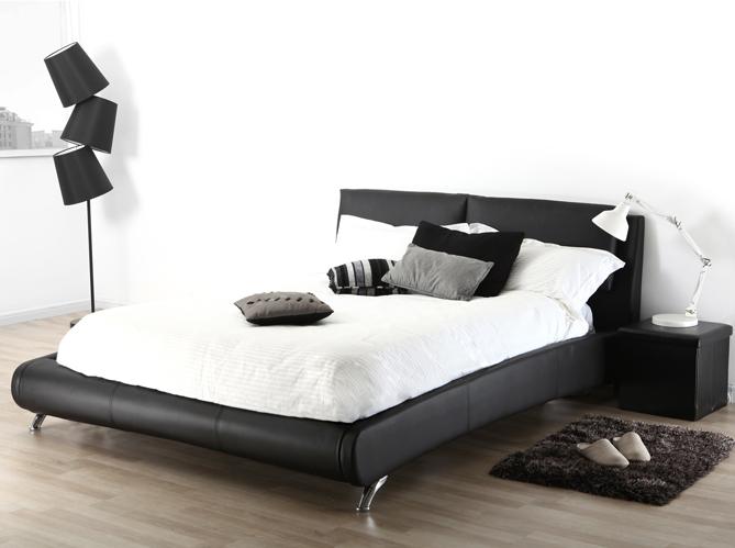 Un beau lit design on en r ve elle d coration for Lit design cuir