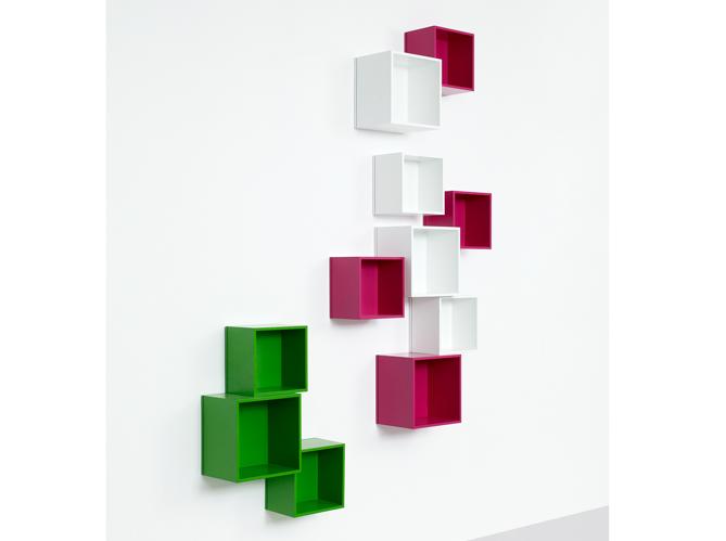 Chambres d 39 enfants 30 id es pratiques pour ranger elle d coration - Cube de rangement mural ...