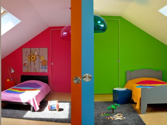 Une chambre d 39 enfant color e elle d coration for Chambre enfant coloree