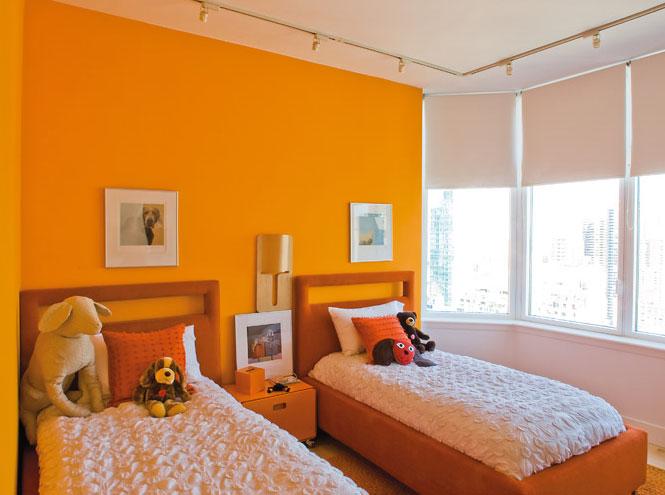 une chambre d 39 enfant color e elle d coration. Black Bedroom Furniture Sets. Home Design Ideas