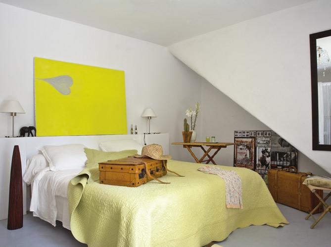 Une chambre printani re elle d coration for Deco dormitorio matrimonial
