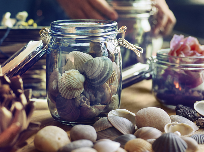Bocaux moisson de petits contenants chez ik a elle for Bocaux decoration cuisine