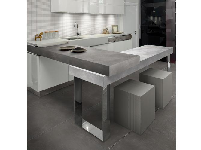 carrelage couleur beton. Black Bedroom Furniture Sets. Home Design Ideas