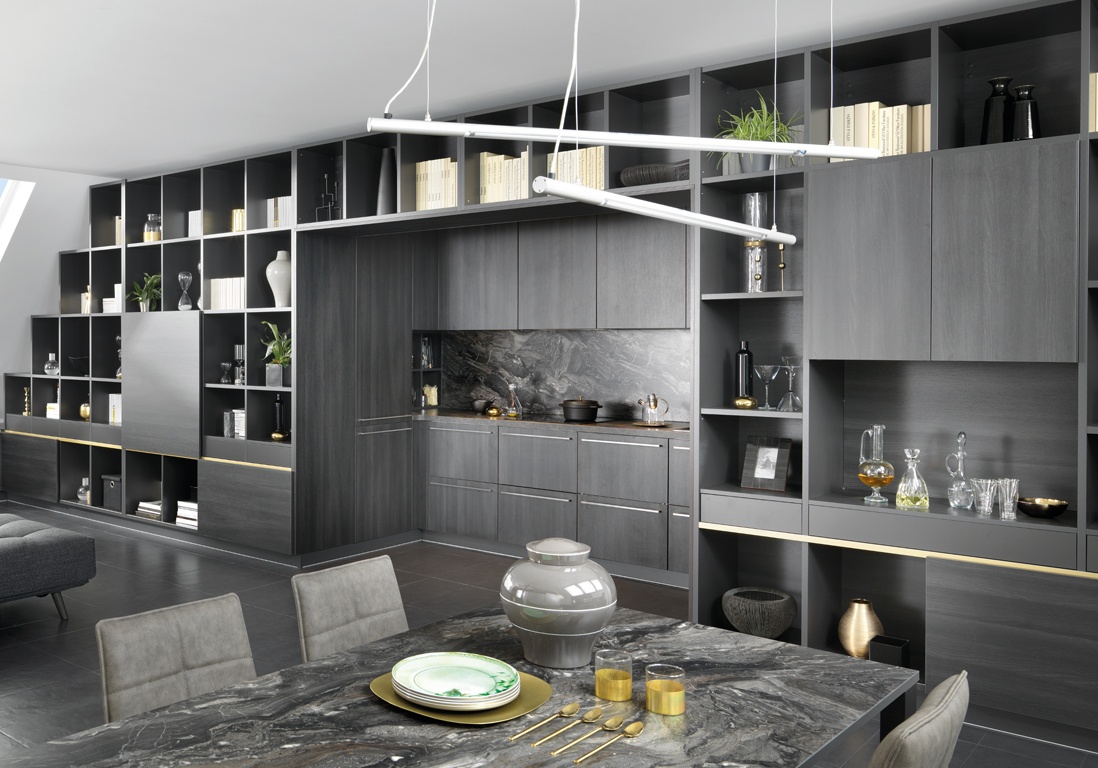 idee cuisine amenagee maison design. Black Bedroom Furniture Sets. Home Design Ideas