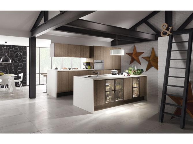 cuisine am ricaine optez pour un espace de vie convivial. Black Bedroom Furniture Sets. Home Design Ideas