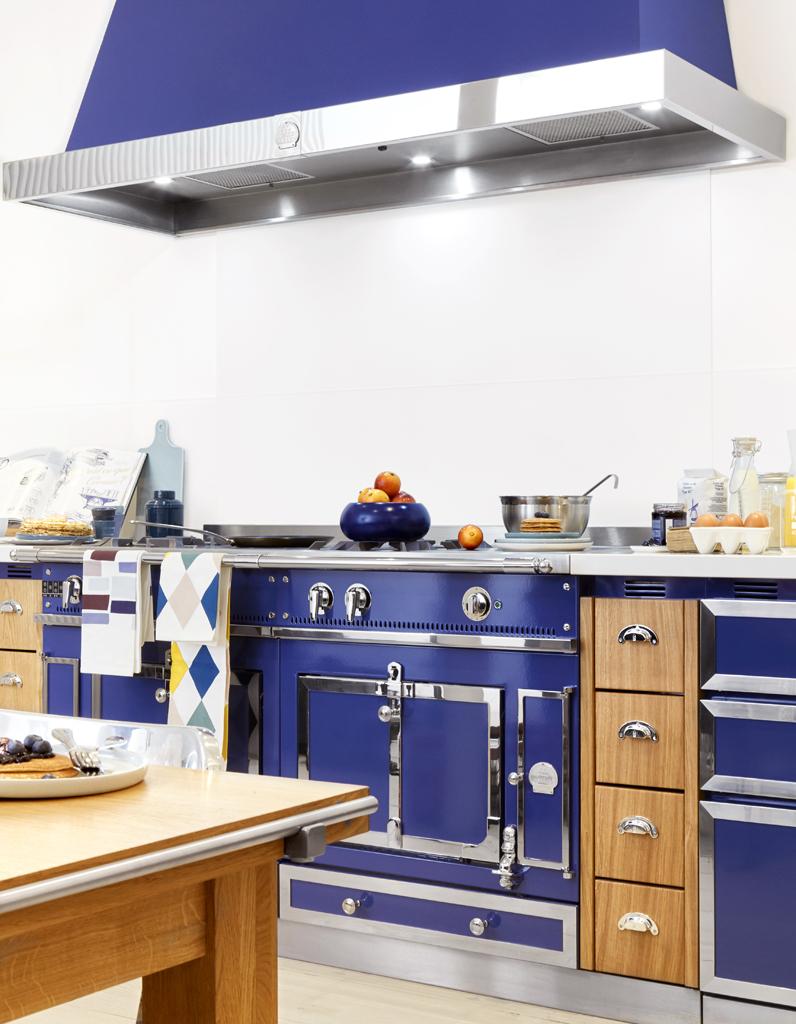 cuisine bleue d couvrez toutes nos inspirations elle d coration. Black Bedroom Furniture Sets. Home Design Ideas