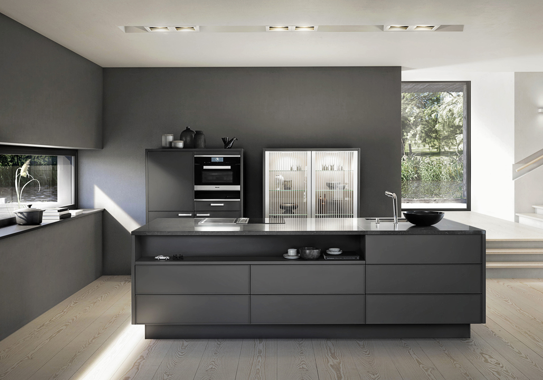 cuisine moderne 25 cuisines contemporaines pour vous inspirer elle d coration. Black Bedroom Furniture Sets. Home Design Ideas