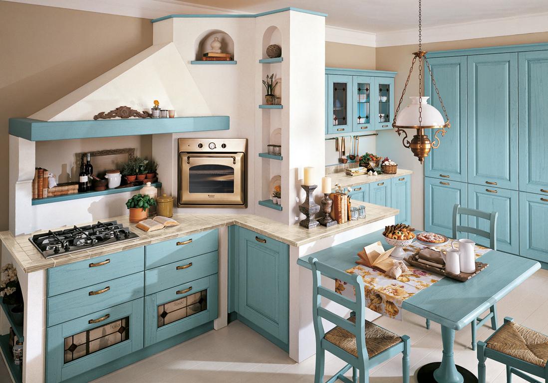 Nos Idées Pour Aménager Une Belle Cuisine Vintage Elle Décoration - Cuisine atypique