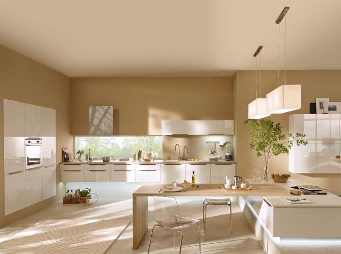 Cuisines design nos mod les pr f r s elle d coration - Couleur cuisine avec carrelage beige ...