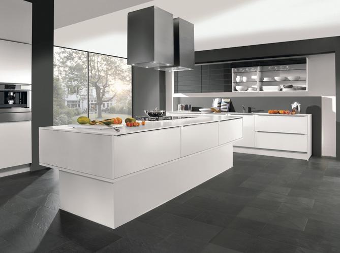 Cuisines design nos mod les pr f r s elle d coration - Cuisine blanche design ...