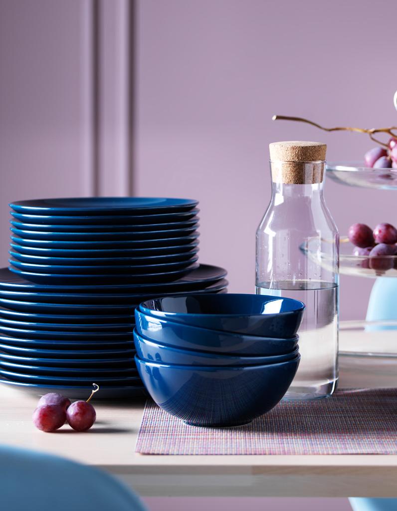 des assiettes pas ch res pour une vaisselle facilement renouvelable elle d coration. Black Bedroom Furniture Sets. Home Design Ideas