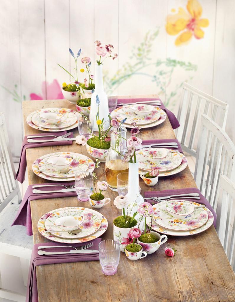 D co de table nos plus belles inspirations pour l 39 t - Deco table printempsidees belles et rafraichissantes ...