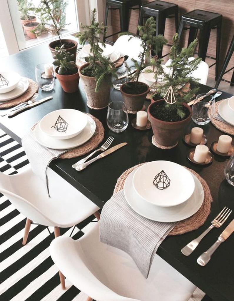 D coration de table d 39 hiver nos meilleures id es de d co de table pour l 39 hiver elle d coration for Decoration de table