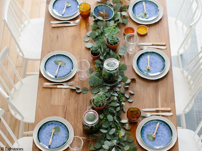 Une d co de table esprit kinfolk elle d coration for Objet de decoration de table