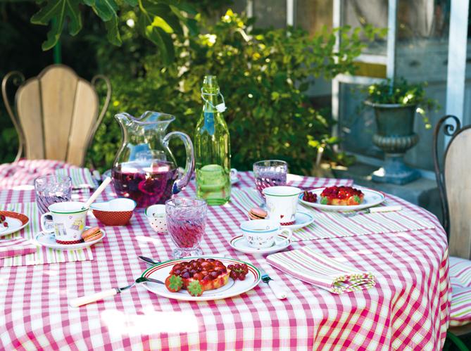 Comment r ussir une d co de table champ tre elle for Decoration de table de cuisine