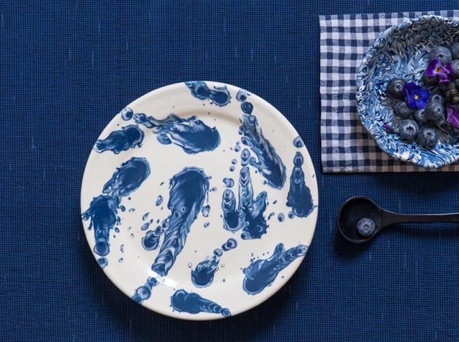 L 39 objet d co du jour l 39 assiette de la tuile loup for Objet de decoration de table