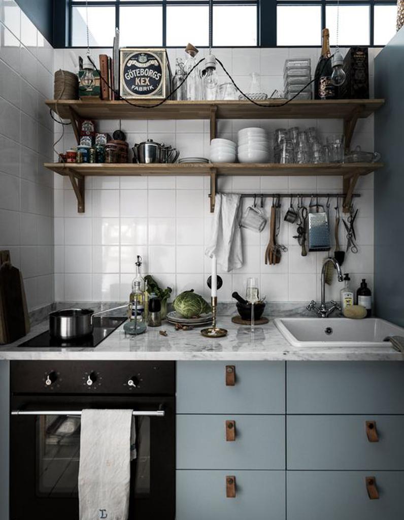 Petite cuisine d couvrez toutes nos inspirations elle d coration - Agencement petite cuisine ...