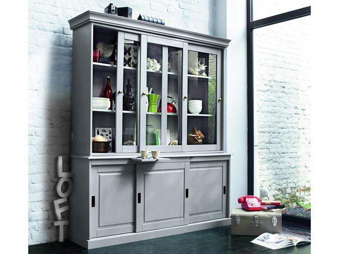 le vaisselier l 39 ancienne s 39 invite en cuisine elle d coration. Black Bedroom Furniture Sets. Home Design Ideas