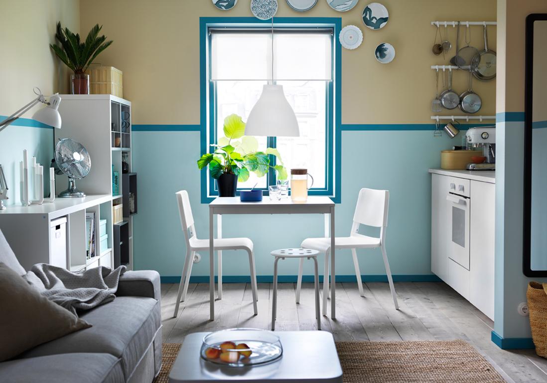 D couvrez les plus belles tables de cuisine du moment elle d coration - Couleur de cuisine ikea ...