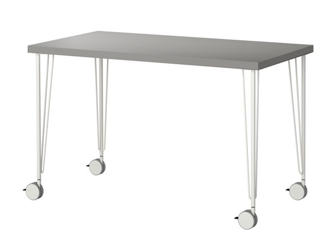 Quelle table pour ma cuisine elle d coration - Table a roulettes ...