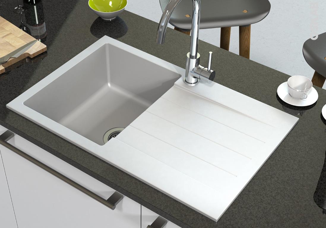 evier de cuisine notre s lection de mod les pratiques et canons elle d coration. Black Bedroom Furniture Sets. Home Design Ideas