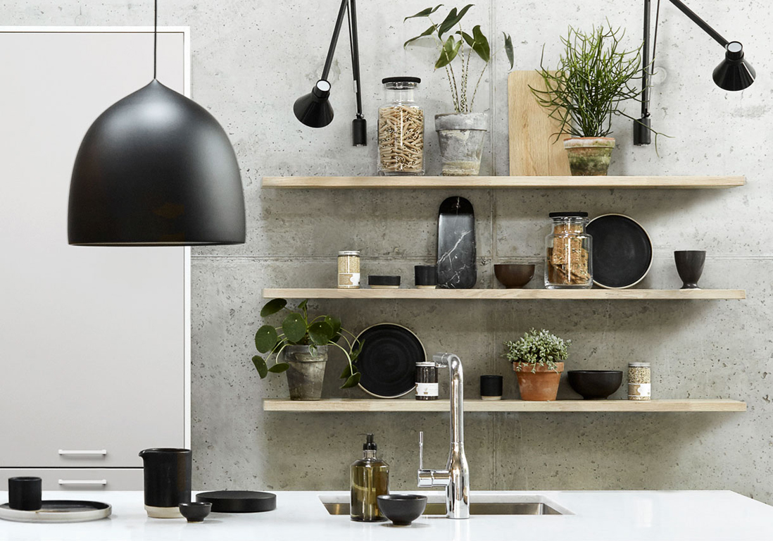 Exposer Sa Vaisselle La Nouvelle Tendance Qui R Veille Nos Cuisines Elle D Coration
