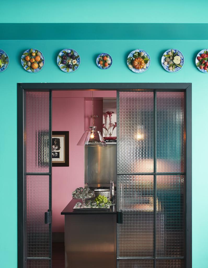 twistez vos assiettes en dco murale - Decoration Murale Pour Cuisine
