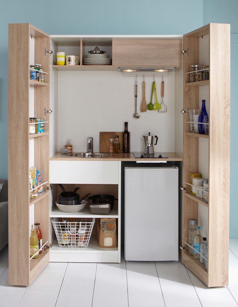 Modele cuisine petite surface affordable amenagement - Modele amenagement cuisine ...