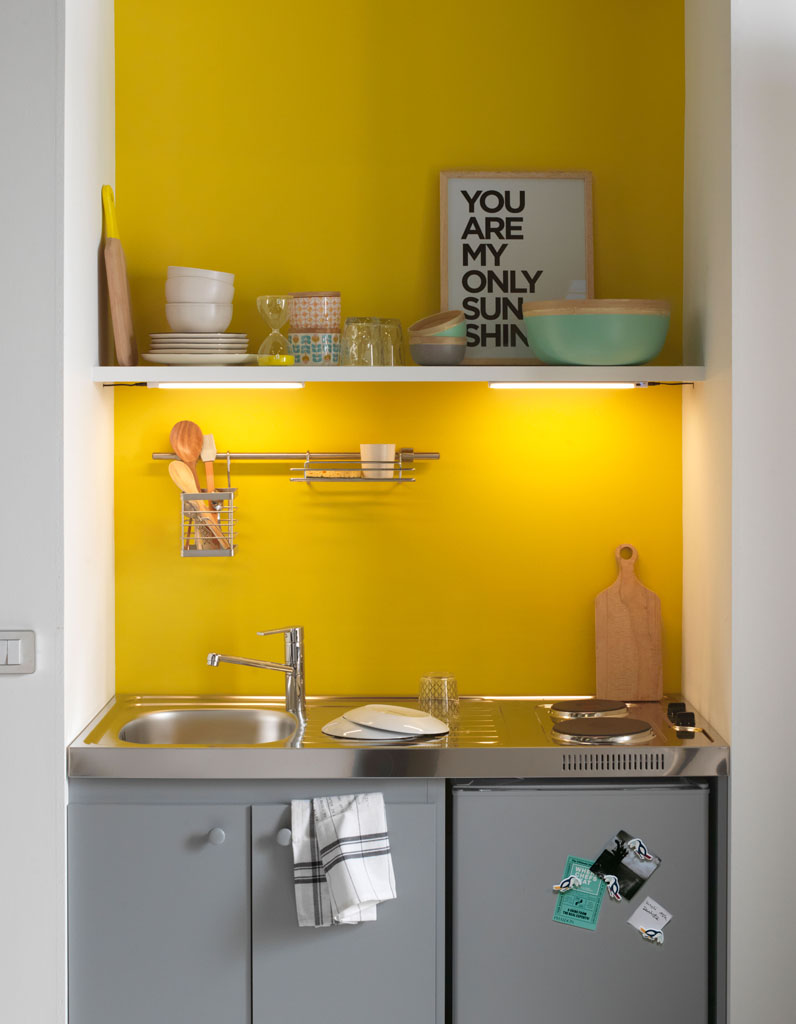 Amnagement petit espace cuisine amenagement petit espace for Plan de travail pour petite cuisine