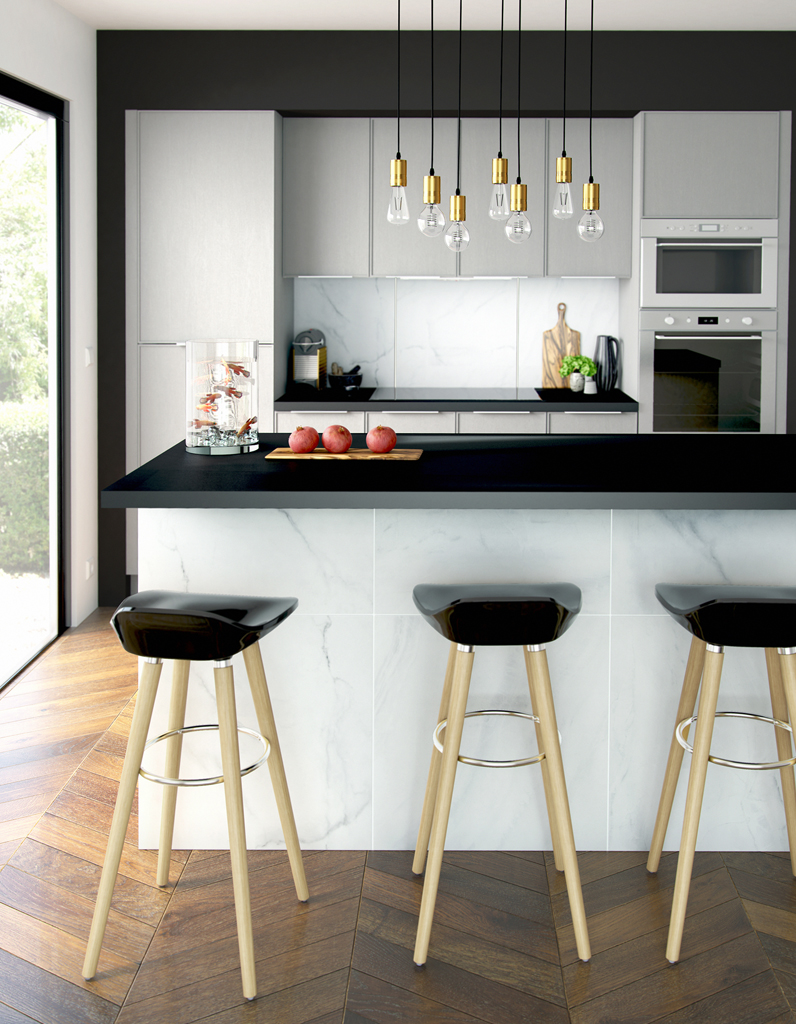 Très Une cuisine design pour un intérieur contemporain - Elle Décoration KH44
