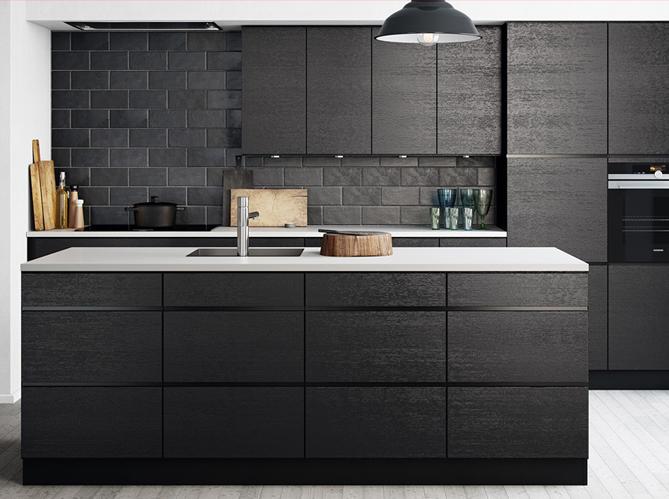 La cr me des cuisines design elle d coration - Plafond de cuisine design ...