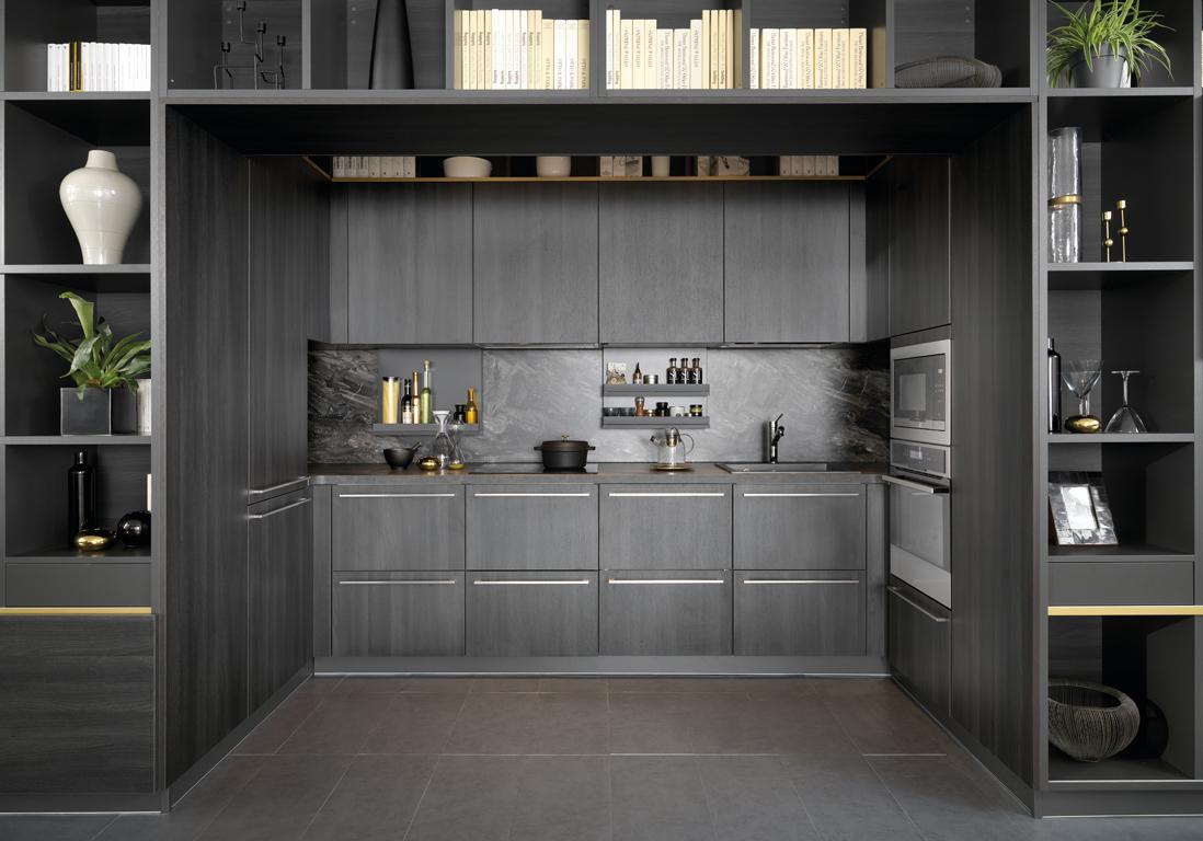 Une cuisine design pour un int rieur contemporain elle for Architecture qui se fond dans le paysage