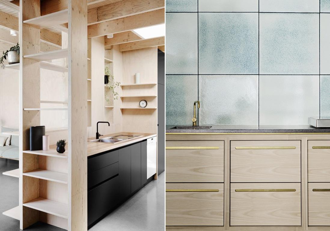 photos cuisine bois  la preuve que les cuisines en bois sont contemporaines