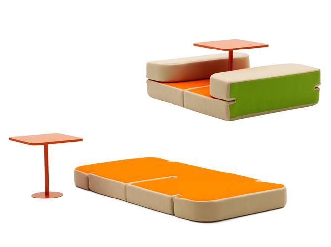 20 solutions g niales pour optimiser l 39 espace elle. Black Bedroom Furniture Sets. Home Design Ideas