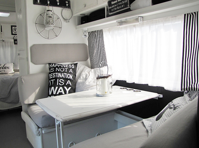ma caravane devient cool elle d coration. Black Bedroom Furniture Sets. Home Design Ideas