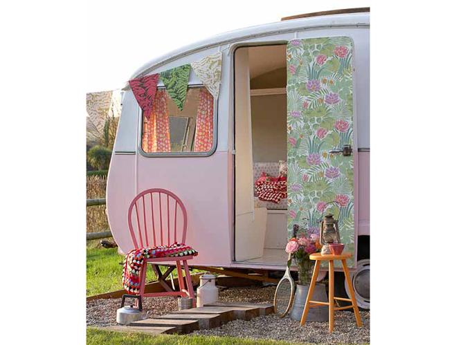 Ma caravane devient cool elle d coration - Peindre une caravane ...