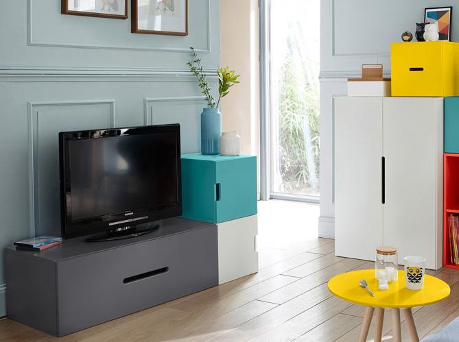 Des meubles astucieux et sympas pour votre studio elle - Meuble pour studio petite surface ...