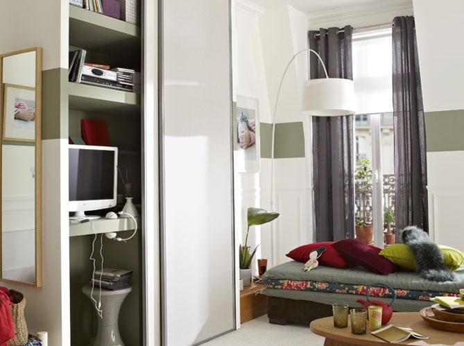 des rangements dans tous les recoins elle d coration. Black Bedroom Furniture Sets. Home Design Ideas