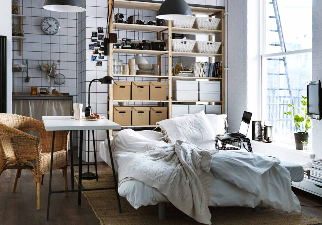 studios les astuces d co pour un lieu de vie canon. Black Bedroom Furniture Sets. Home Design Ideas
