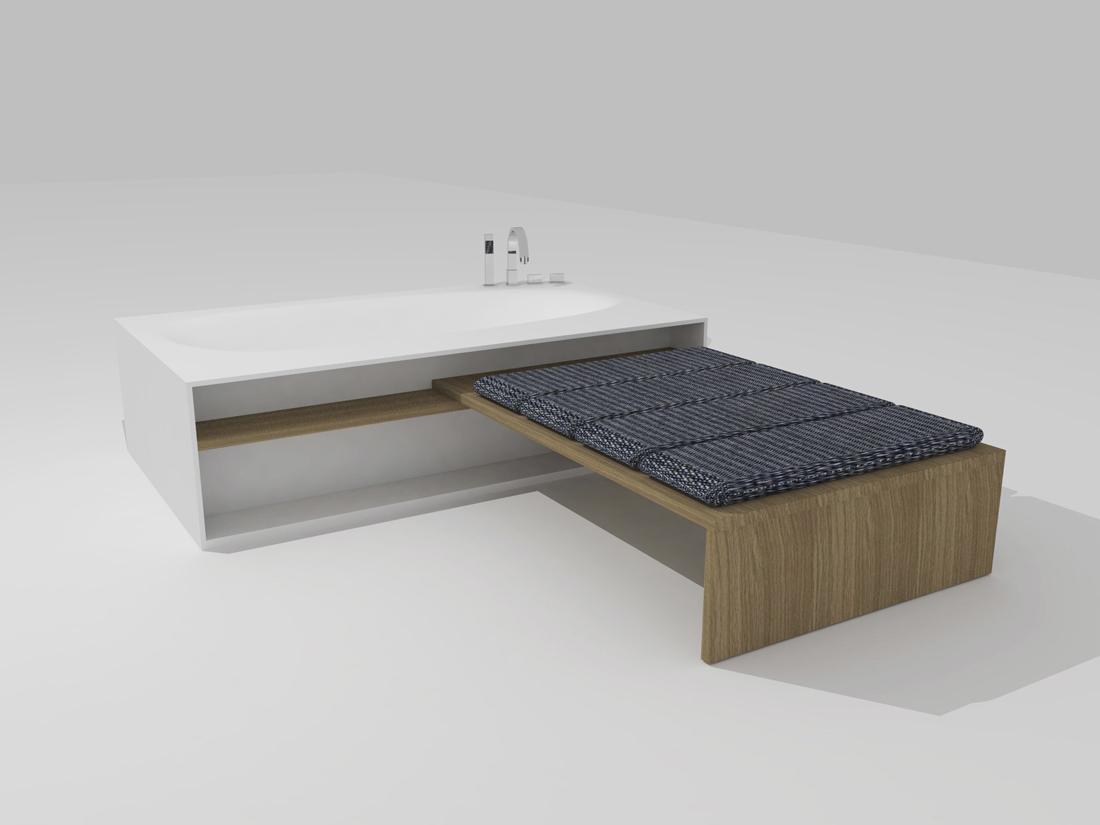 Salle de bain scandinave paris solutions pour la for Parois salle de bain