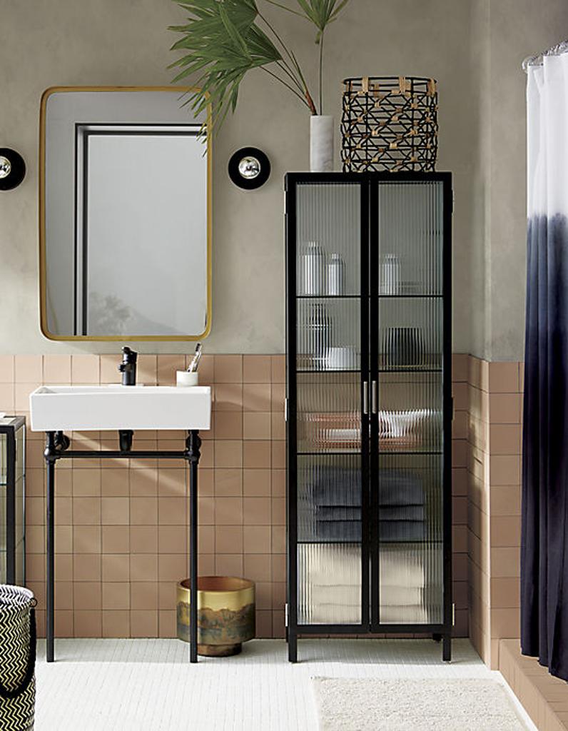 30 id es pour d corer votre salle de bains sans la r nover elle d coration for Elle deco salle de bain