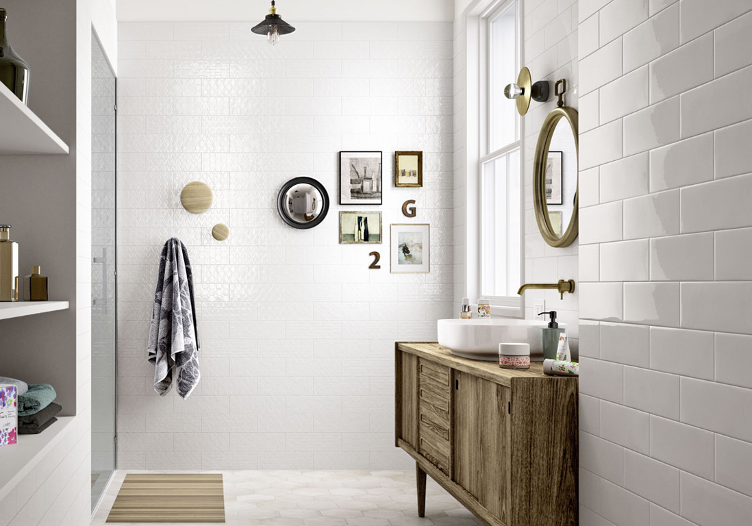 30 id es pour d corer votre salle de bains sans la r nover for Elle deco salle de bain