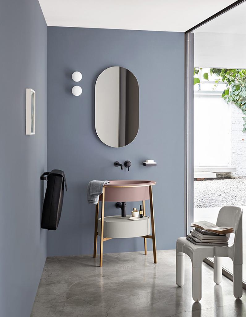 Couleur salle de bains 15 astuces pour apporter de la for Salon de la salle de bain paris