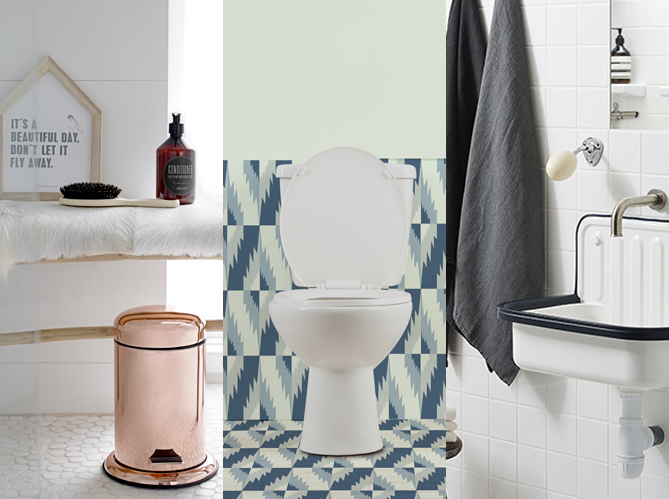D corer ses toilettes sans faire ringard elle d coration - Decorer salle de bain ...