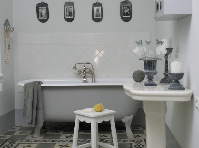 Des salles de bains de charme elle d coration - Elle deco salle de bain ...