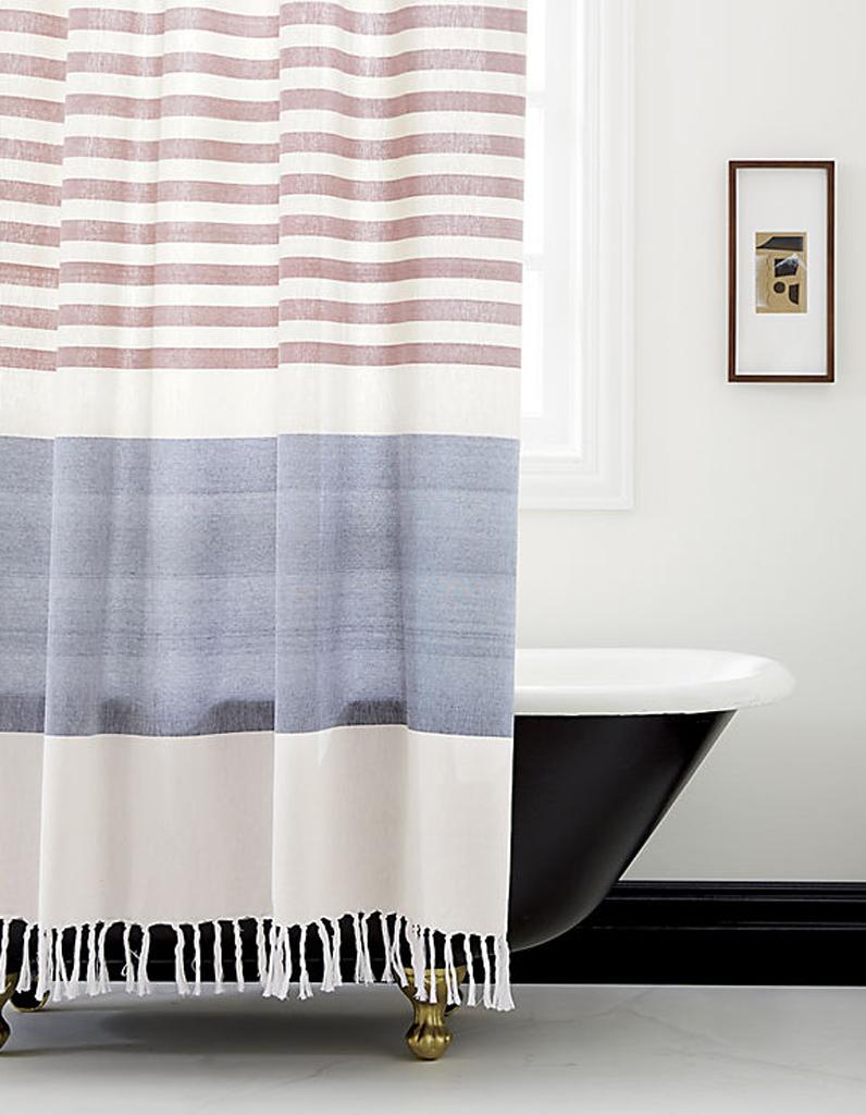 Rideau de douche 15 rideaux de douche pour une salle de bains d co elle d - Rideau de douche vintage ...