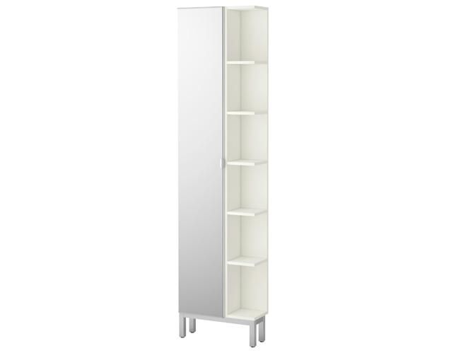 40 armoires de salle de bains elle d coration for Ikea colonne de salle de bain lillangen